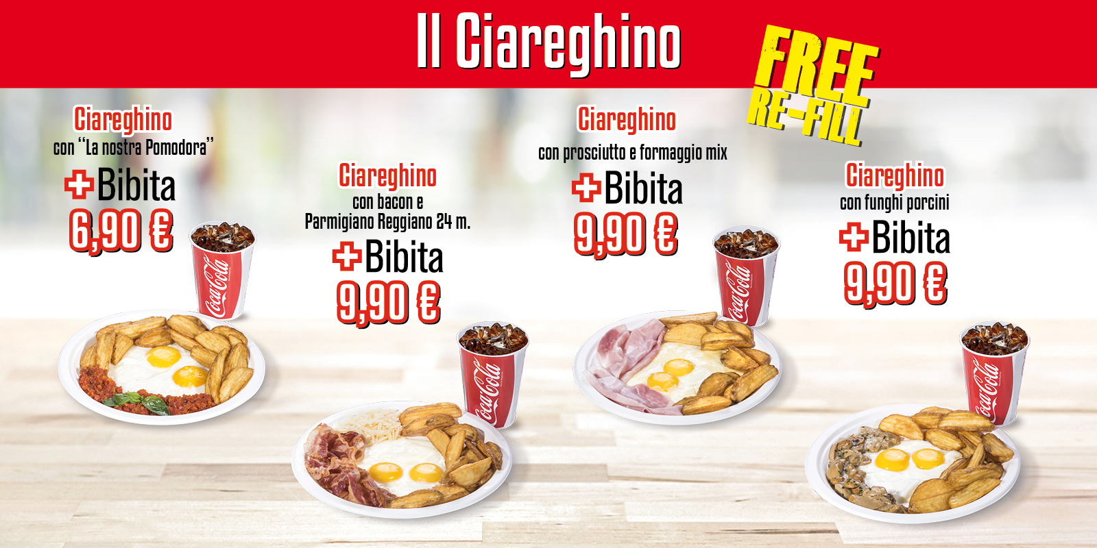 Ciareghino fast food Bergamo